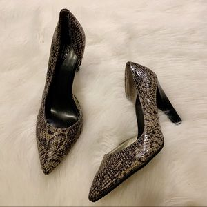 "🌟Like New🌟 Snakeskin 4"" Heels"